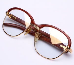 Cartier Malmaison Palisander Rosewood (Floyd Mayweather) Thumbnail, Cartier, glasses frames, eyeglasses online, eyeglass frames, mens glasses, womens glasses, buy glasses online, designer eyeglasses, vintage sunglasses, retro sunglasses, vintage glasses, sunglass, eyeglass, glasses, lens, vintage frames company, vf