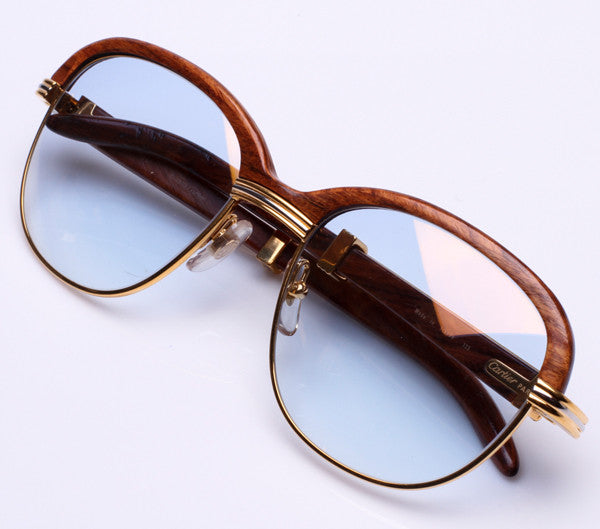 Cartier Malmaison Bubinga (Usher), Cartier , glasses frames, eyeglasses online, eyeglass frames, mens glasses, womens glasses, buy glasses online, designer eyeglasses, vintage sunglasses, retro sunglasses, vintage glasses, sunglass, eyeglass, glasses, lens, vintage frames company, vf