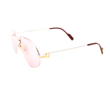 Cartier Panthere 2-Tone (Pink), Cartier, glasses frames, eyeglasses online, eyeglass frames, mens glasses, womens glasses, buy glasses online, designer eyeglasses, vintage sunglasses, retro sunglasses, vintage glasses, sunglass, eyeglass, glasses, lens, vintage frames company, vf