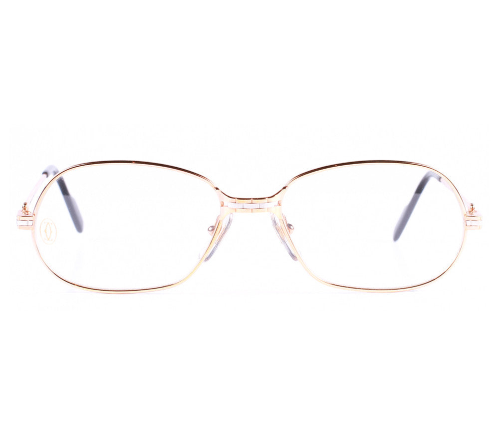 Cartier Panthere PMLE Front, Cartier , glasses frames, eyeglasses online, eyeglass frames, mens glasses, womens glasses, buy glasses online, designer eyeglasses, vintage sunglasses, retro sunglasses, vintage glasses, sunglass, eyeglass, glasses, lens, vintage frames company, vf