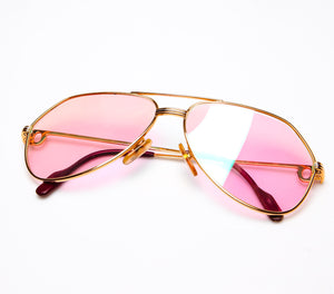 Cartier Vendome Louis Pink Flash Special Edition Thumbnail, Cartier, glasses frames, eyeglasses online, eyeglass frames, mens glasses, womens glasses, buy glasses online, designer eyeglasses, vintage sunglasses, retro sunglasses, vintage glasses, sunglass, eyeglass, glasses, lens, vintage frames company, vf