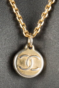 Vintage Chanel CHAN-129 Chain Closeup