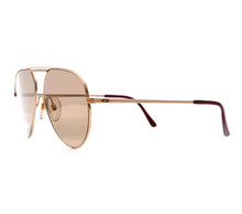 Christian Dior 2536 40 (Gold Dust Flash Gold Flat Lens) Side