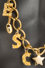 Vintage Escada ESC-007 Chain Closeup