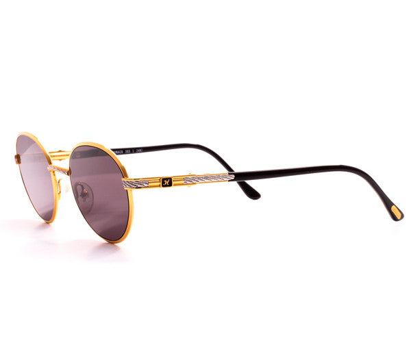 Fabolous For Vintage Frames 24kt Gold Sunglasses - Vintage Frames ...
