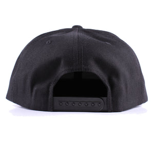 "Vintage Frames Company ""Maniac By Nature"" Black/Gold Snapback Back"