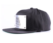 "Vintage Frames Company ""Maniac By Nature"" Black/Silver Snapback Side"