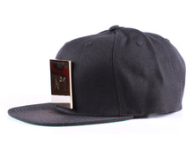Vintage Frames Company N#1 Gold Plated Black Snapback Side