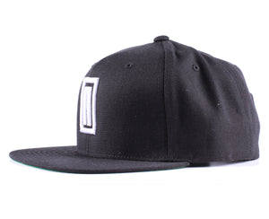 "Vintage Frames Company Notorious ""N"" Black/White Snapback Side"