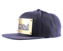 "Vintage Frames Company ""Rich N The Hood"" Blue/Gold Snapback Side"