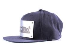 "Vintage Frames Company ""Rich N The Hood"" Blue/Silver Snapback Side"