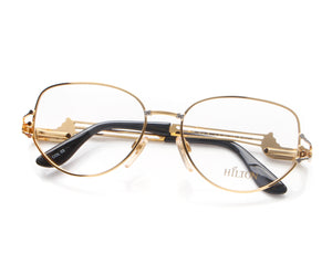 Vintage Hilton 110 03 22 KGP Thumb, Hilton, glasses frames, eyeglasses online, eyeglass frames, mens glasses, womens glasses, buy glasses online, designer eyeglasses, vintage sunglasses, retro sunglasses, vintage glasses, sunglass, eyeglass, glasses, lens, vintage frames company, vf