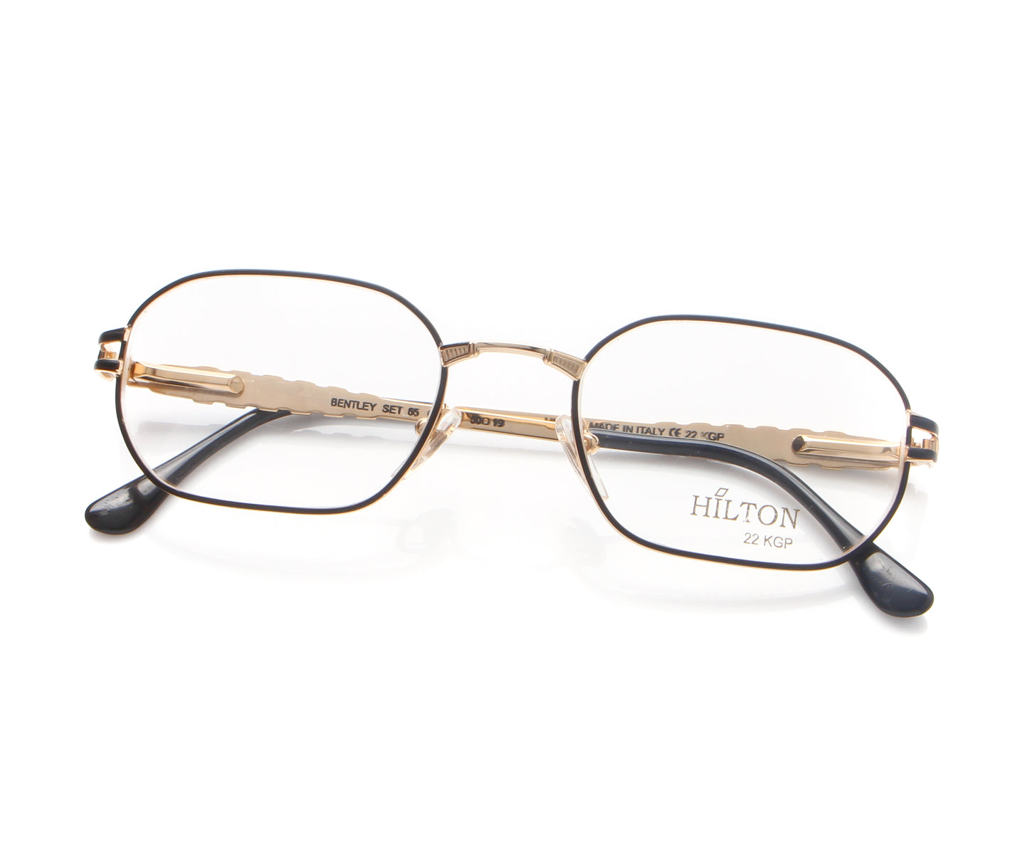 Vintage Hilton Bentley 65 01 22 KGP Thumb, Hilton , glasses frames, eyeglasses online, eyeglass frames, mens glasses, womens glasses, buy glasses online, designer eyeglasses, vintage sunglasses, retro sunglasses, vintage glasses, sunglass, eyeglass, glasses, lens, vintage frames company, vf