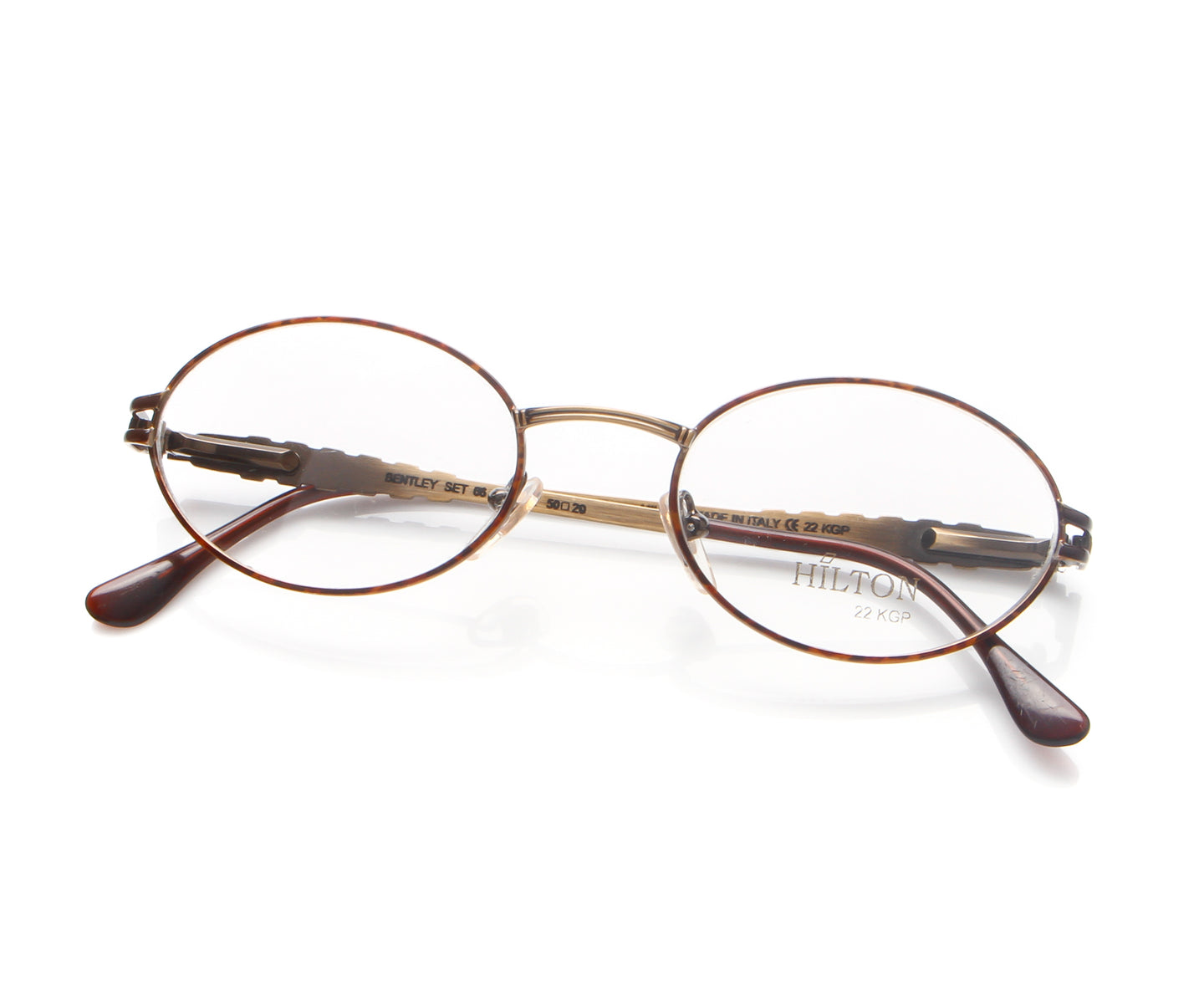 Vintage Hilton Bentley 66 02 22 KGP Thumb, Hilton , glasses frames, eyeglasses online, eyeglass frames, mens glasses, womens glasses, buy glasses online, designer eyeglasses, vintage sunglasses, retro sunglasses, vintage glasses, sunglass, eyeglass, glasses, lens, vintage frames company, vf