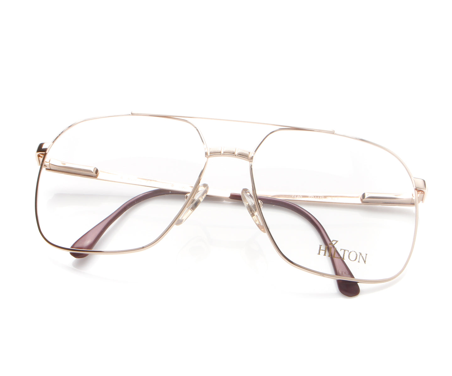 Vintage Hilton Class 006 020 E39 24KT Thumb, Hilton , glasses frames, eyeglasses online, eyeglass frames, mens glasses, womens glasses, buy glasses online, designer eyeglasses, vintage sunglasses, retro sunglasses, vintage glasses, sunglass, eyeglass, glasses, lens, vintage frames company, vf