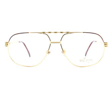 Vintage Hilton Class 703 2 24KT Front, Hilton, glasses frames, eyeglasses online, eyeglass frames, mens glasses, womens glasses, buy glasses online, designer eyeglasses, vintage sunglasses, retro sunglasses, vintage glasses, sunglass, eyeglass, glasses, lens, vintage frames company, vf