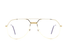 Vintage Hilton Exclusive 021 1 24KT Front, Hilton, glasses frames, eyeglasses online, eyeglass frames, mens glasses, womens glasses, buy glasses online, designer eyeglasses, vintage sunglasses, retro sunglasses, vintage glasses, sunglass, eyeglass, glasses, lens, vintage frames company, vf