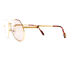 Vintage Hilton Exclusive 021 2 24KT Side, Hilton, glasses frames, eyeglasses online, eyeglass frames, mens glasses, womens glasses, buy glasses online, designer eyeglasses, vintage sunglasses, retro sunglasses, vintage glasses, sunglass, eyeglass, glasses, lens, vintage frames company, vf