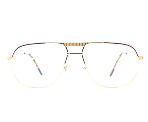 Vintage Hilton Exclusive 022 2 24KT Front, Hilton, glasses frames, eyeglasses online, eyeglass frames, mens glasses, womens glasses, buy glasses online, designer eyeglasses, vintage sunglasses, retro sunglasses, vintage glasses, sunglass, eyeglass, glasses, lens, vintage frames company, vf
