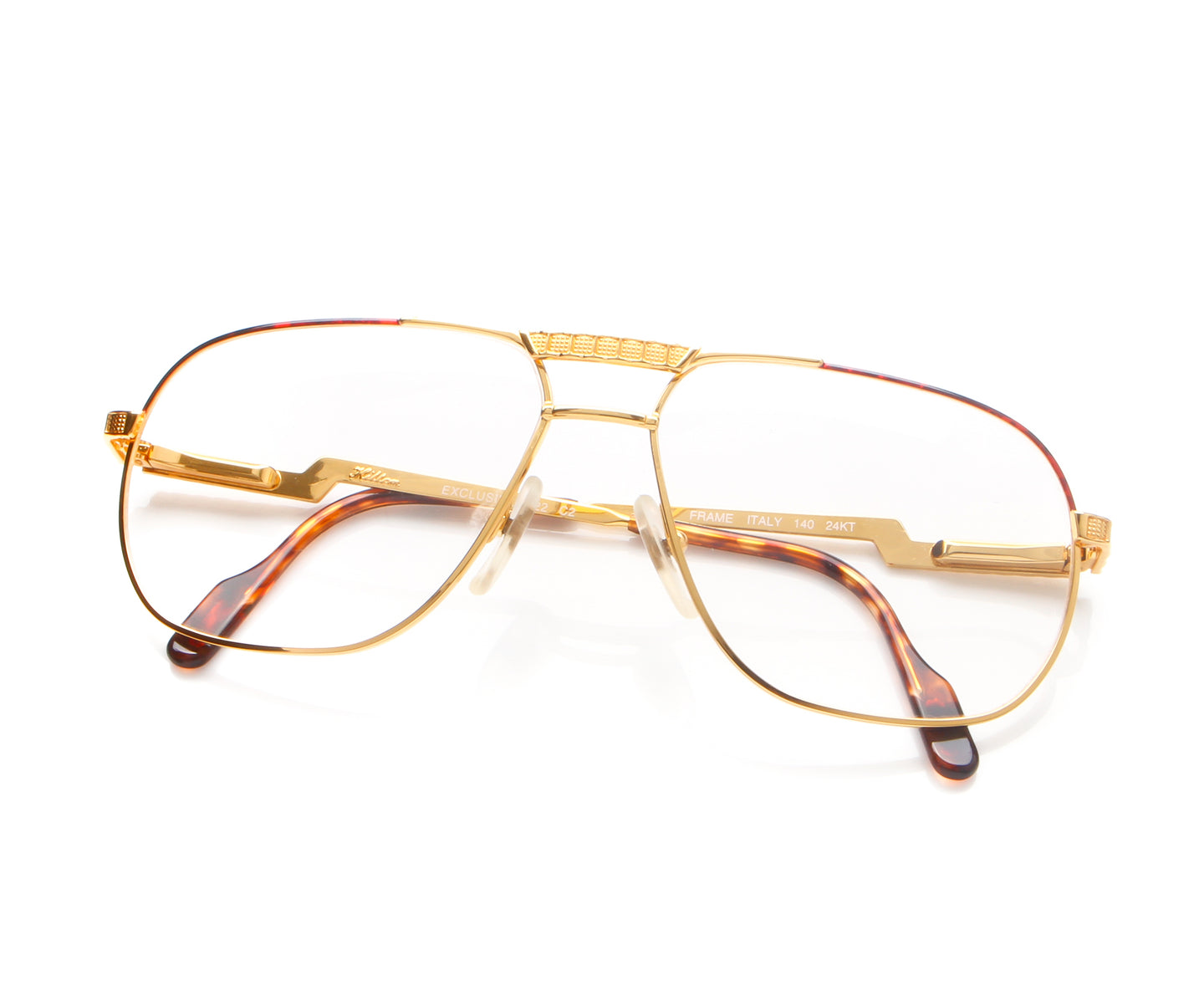 Vintage Hilton Exclusive 022 2 24KT Thumb, Hilton , glasses frames, eyeglasses online, eyeglass frames, mens glasses, womens glasses, buy glasses online, designer eyeglasses, vintage sunglasses, retro sunglasses, vintage glasses, sunglass, eyeglass, glasses, lens, vintage frames company, vf