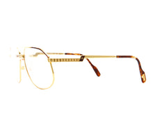 Vintage Hilton Exclusive 024 2 24KT Side, Hilton, glasses frames, eyeglasses online, eyeglass frames, mens glasses, womens glasses, buy glasses online, designer eyeglasses, vintage sunglasses, retro sunglasses, vintage glasses, sunglass, eyeglass, glasses, lens, vintage frames company, vf