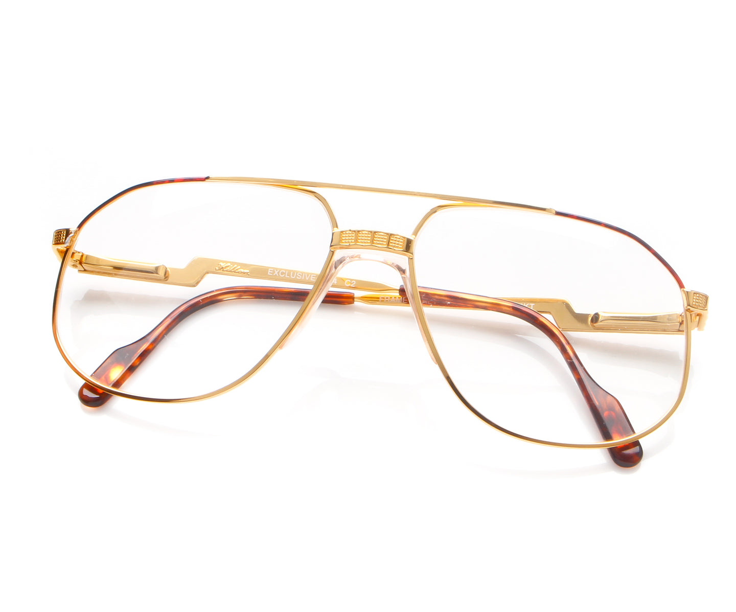 Vintage Hilton Exclusive 024 2 24KT Thumb, Hilton , glasses frames, eyeglasses online, eyeglass frames, mens glasses, womens glasses, buy glasses online, designer eyeglasses, vintage sunglasses, retro sunglasses, vintage glasses, sunglass, eyeglass, glasses, lens, vintage frames company, vf