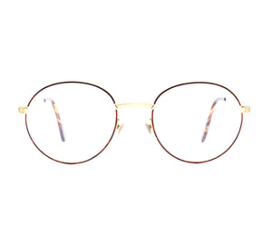 Vintage Hilton Exclusive 025 2 24KT Front, Hilton, glasses frames, eyeglasses online, eyeglass frames, mens glasses, womens glasses, buy glasses online, designer eyeglasses, vintage sunglasses, retro sunglasses, vintage glasses, sunglass, eyeglass, glasses, lens, vintage frames company, vf