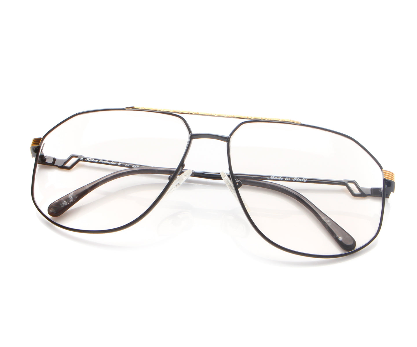 Vintage Hilton Exclusive 11 319 20KT GP Thumb, Hilton , glasses frames, eyeglasses online, eyeglass frames, mens glasses, womens glasses, buy glasses online, designer eyeglasses, vintage sunglasses, retro sunglasses, vintage glasses, sunglass, eyeglass, glasses, lens, vintage frames company, vf