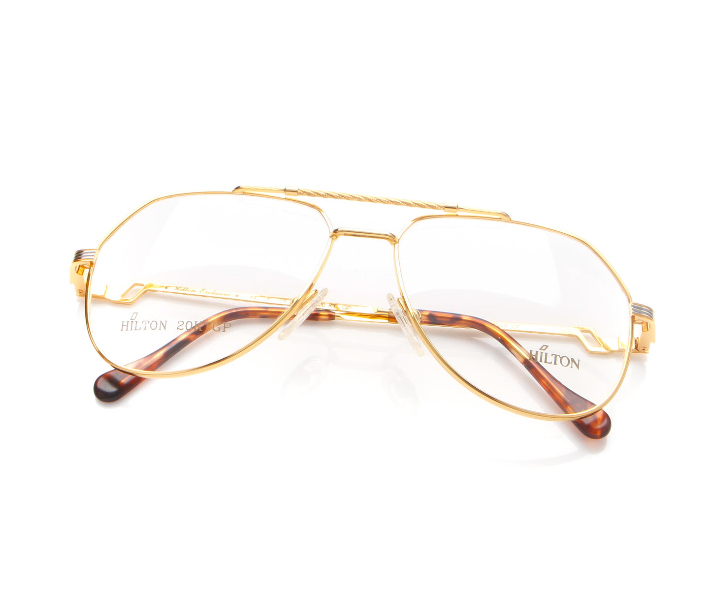 Vintage Hilton Exclusive 14 1 20KT GP Thumb, Hilton , glasses frames, eyeglasses online, eyeglass frames, mens glasses, womens glasses, buy glasses online, designer eyeglasses, vintage sunglasses, retro sunglasses, vintage glasses, sunglass, eyeglass, glasses, lens, vintage frames company, vf