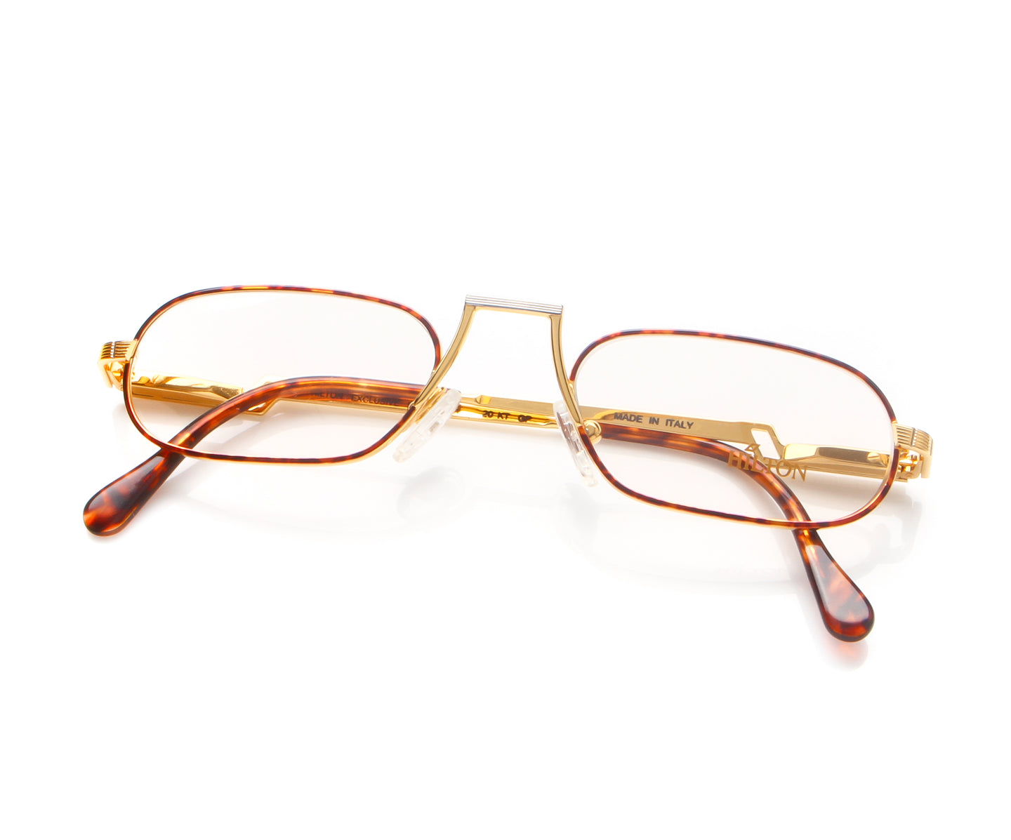 Vintage Hilton Exclusive 9 2 20KT GP Thumb, Hilton , glasses frames, eyeglasses online, eyeglass frames, mens glasses, womens glasses, buy glasses online, designer eyeglasses, vintage sunglasses, retro sunglasses, vintage glasses, sunglass, eyeglass, glasses, lens, vintage frames company, vf