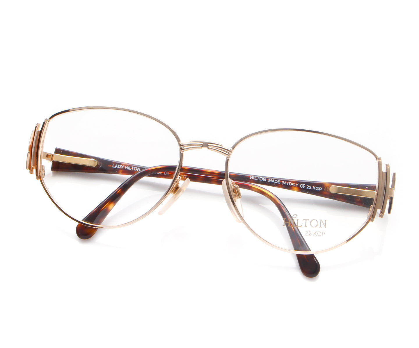 Vintage Hilton Lady Hilton 40 04 22 KGP Thumb, Hilton , glasses frames, eyeglasses online, eyeglass frames, mens glasses, womens glasses, buy glasses online, designer eyeglasses, vintage sunglasses, retro sunglasses, vintage glasses, sunglass, eyeglass, glasses, lens, vintage frames company, vf