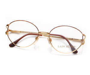 Vintage Hilton Lady Hilton 41 04 22 KGP Thumb, Hilton, glasses frames, eyeglasses online, eyeglass frames, mens glasses, womens glasses, buy glasses online, designer eyeglasses, vintage sunglasses, retro sunglasses, vintage glasses, sunglass, eyeglass, glasses, lens, vintage frames company, vf