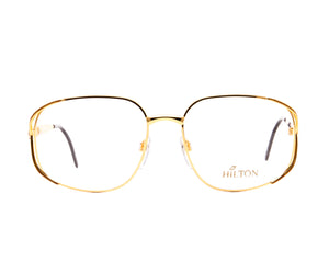 Vintage Hilton Lady Hilton 815 98D E7F 24KT, Hilton, glasses frames, eyeglasses online, eyeglass frames, mens glasses, womens glasses, buy glasses online, designer eyeglasses, vintage sunglasses, retro sunglasses, vintage glasses, sunglass, eyeglass, glasses, lens, vintage frames company, vf