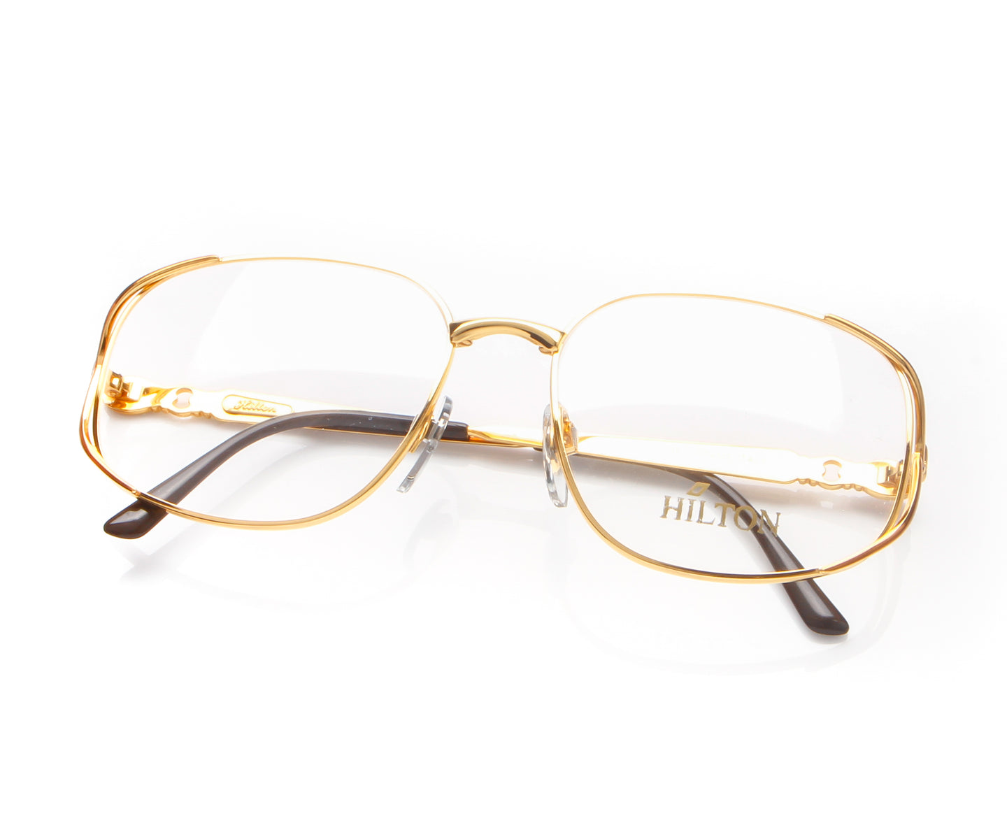 Vintage Hilton Lady Hilton 815 98D E7F 24KT, Hilton , glasses frames, eyeglasses online, eyeglass frames, mens glasses, womens glasses, buy glasses online, designer eyeglasses, vintage sunglasses, retro sunglasses, vintage glasses, sunglass, eyeglass, glasses, lens, vintage frames company, vf