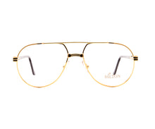Vintage Hilton Manhattan 201 C1 24KT Front, Hilton, glasses frames, eyeglasses online, eyeglass frames, mens glasses, womens glasses, buy glasses online, designer eyeglasses, vintage sunglasses, retro sunglasses, vintage glasses, sunglass, eyeglass, glasses, lens, vintage frames company, vf