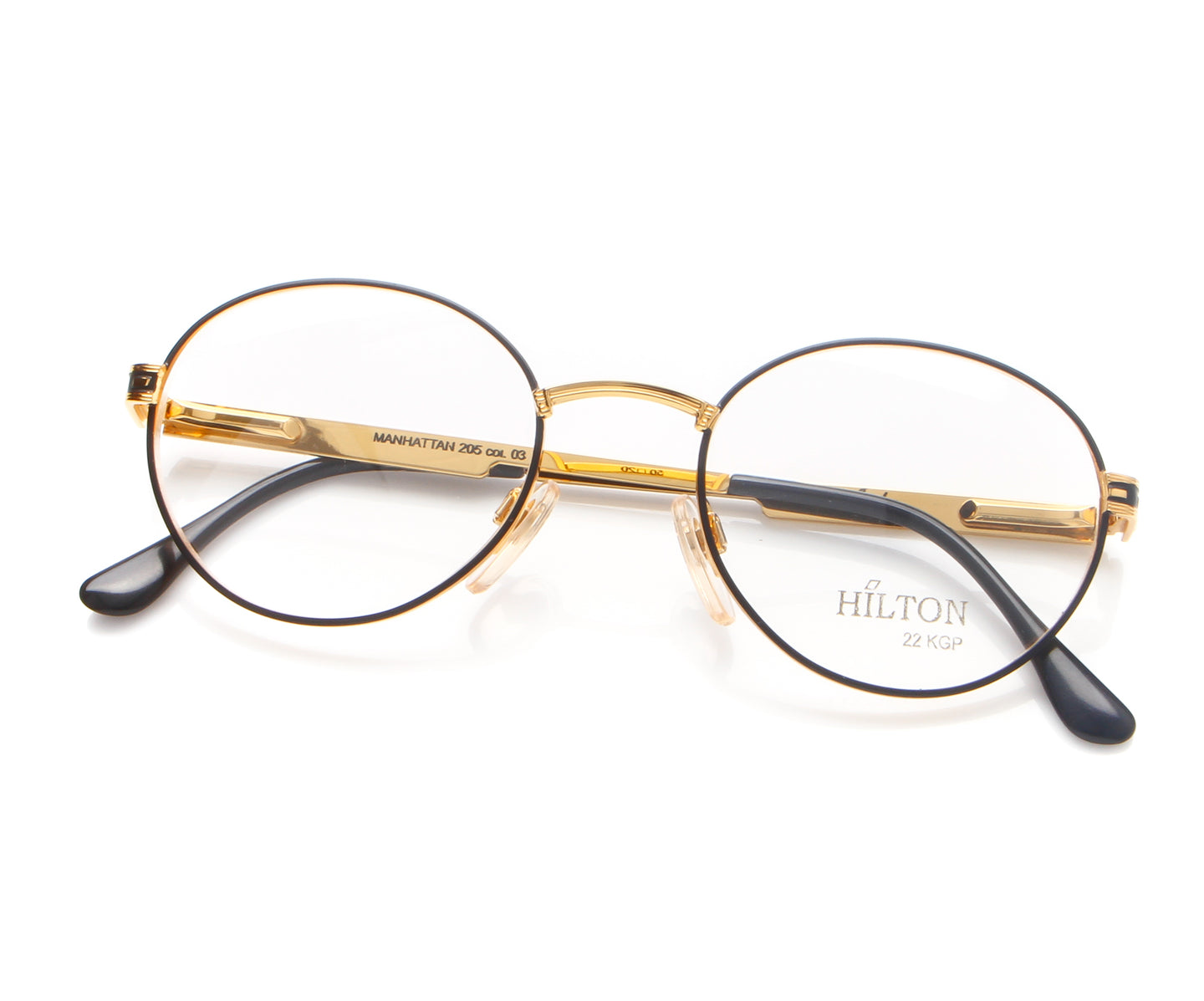 Vintage Hilton Manhattan 205 03 Thumb, Hilton , glasses frames, eyeglasses online, eyeglass frames, mens glasses, womens glasses, buy glasses online, designer eyeglasses, vintage sunglasses, retro sunglasses, vintage glasses, sunglass, eyeglass, glasses, lens, vintage frames company, vf