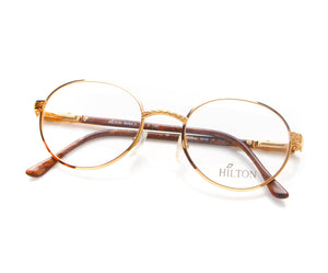 Vintage Hilton Monaco 303 2 24KT Thumbnail, Hilton, glasses frames, eyeglasses online, eyeglass frames, mens glasses, womens glasses, buy glasses online, designer eyeglasses, vintage sunglasses, retro sunglasses, vintage glasses, sunglass, eyeglass, glasses, lens, vintage frames company, vf