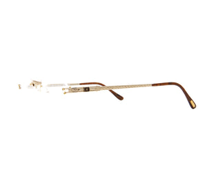 Vintage Hilton Monaco 305R 3 24KT Side, Hilton, glasses frames, eyeglasses online, eyeglass frames, mens glasses, womens glasses, buy glasses online, designer eyeglasses, vintage sunglasses, retro sunglasses, vintage glasses, sunglass, eyeglass, glasses, lens, vintage frames company, vf