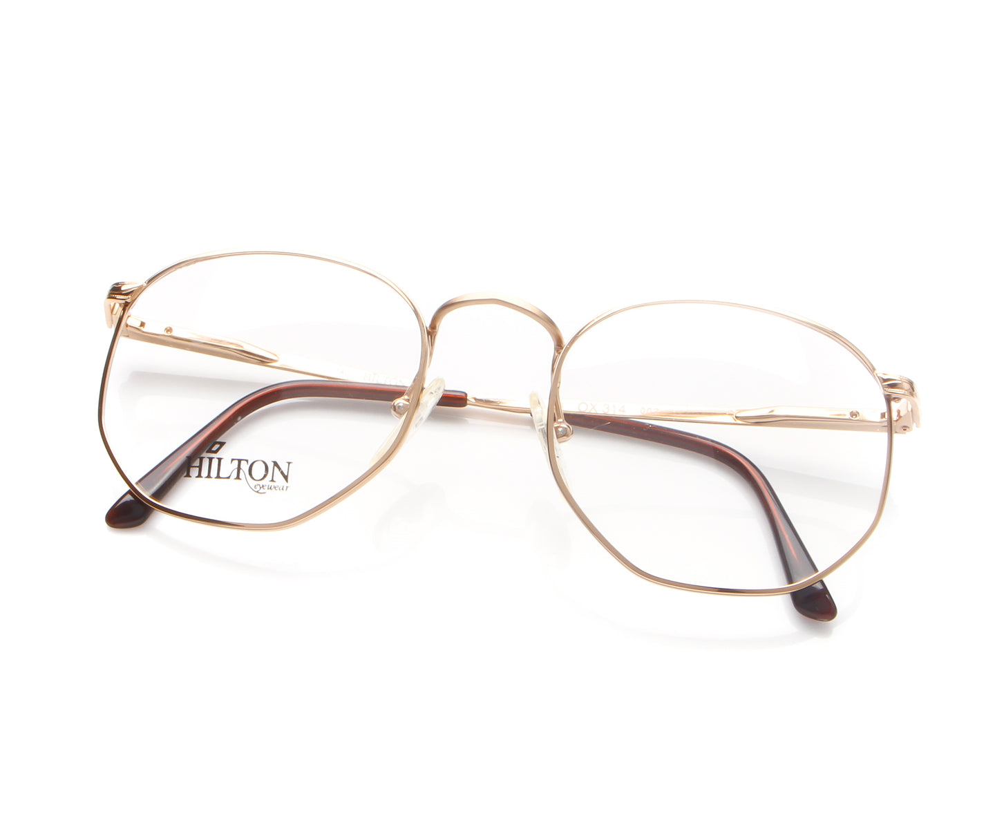 Vintage Hilton OX 314 002 Thumbnail, Hilton , glasses frames, eyeglasses online, eyeglass frames, mens glasses, womens glasses, buy glasses online, designer eyeglasses, vintage sunglasses, retro sunglasses, vintage glasses, sunglass, eyeglass, glasses, lens, vintage frames company, vf