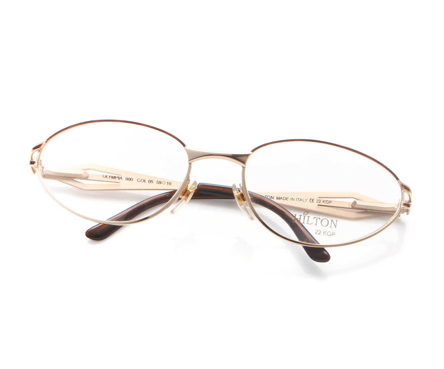 Vintage Hilton Olympia 800 05 22 KGP Thumbnail, Hilton , glasses frames, eyeglasses online, eyeglass frames, mens glasses, womens glasses, buy glasses online, designer eyeglasses, vintage sunglasses, retro sunglasses, vintage glasses, sunglass, eyeglass, glasses, lens, vintage frames company, vf