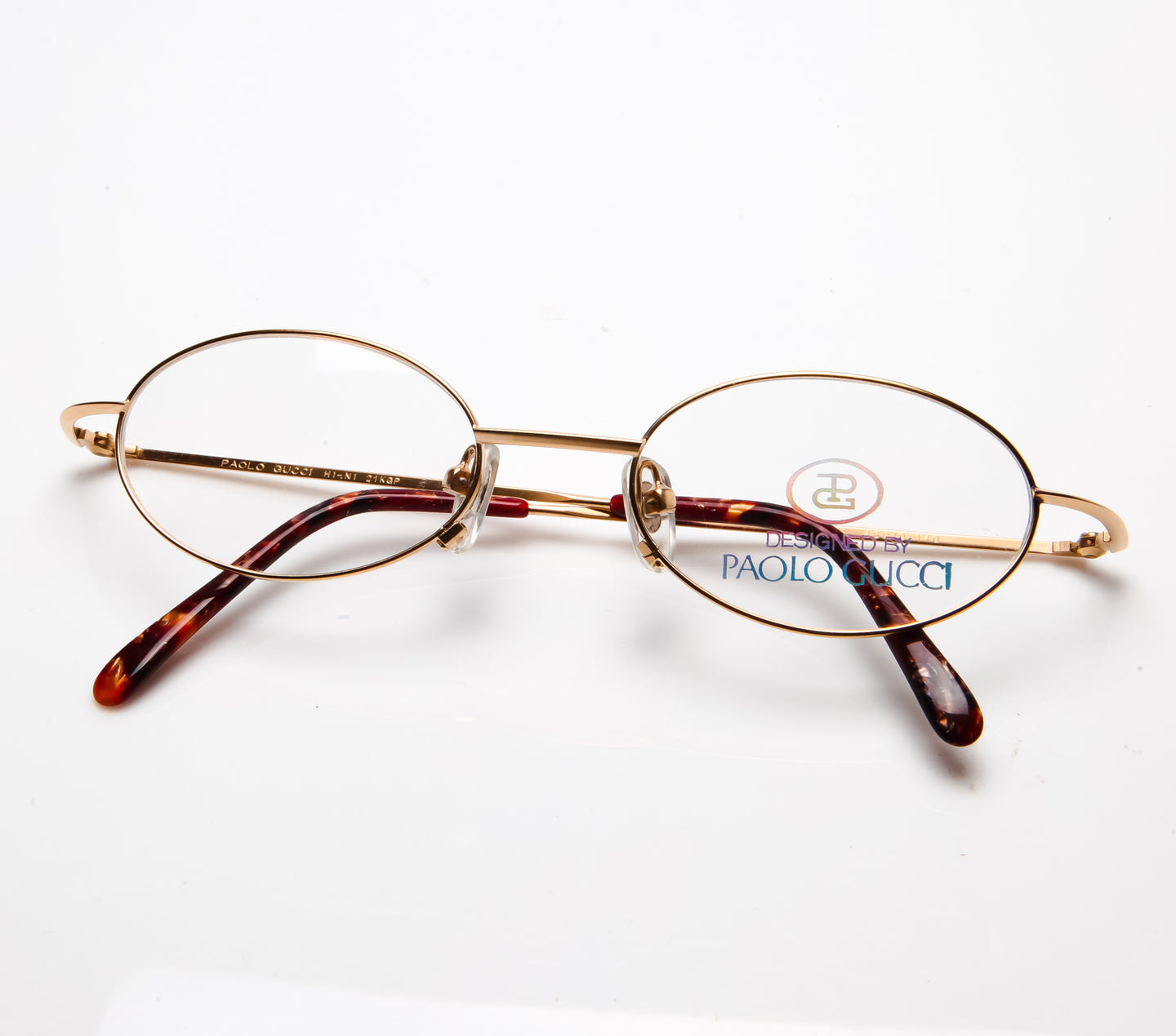 Paolo Gucci 7428R 21k Gold Plated (Clear Lens), Paolo Gucci , glasses frames, eyeglasses online, eyeglass frames, mens glasses, womens glasses, buy glasses online, designer eyeglasses, vintage sunglasses, retro sunglasses, vintage glasses, sunglass, eyeglass, glasses, lens, vintage frames company, vf