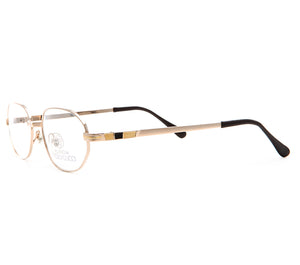 Paolo Gucci 8109 21k Gold Plated (Clear Lens), Paolo Gucci, glasses frames, eyeglasses online, eyeglass frames, mens glasses, womens glasses, buy glasses online, designer eyeglasses, vintage sunglasses, retro sunglasses, vintage glasses, sunglass, eyeglass, glasses, lens, vintage frames company, vf