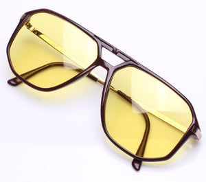 Vintage Frames Richardson 020R Solid Yellow