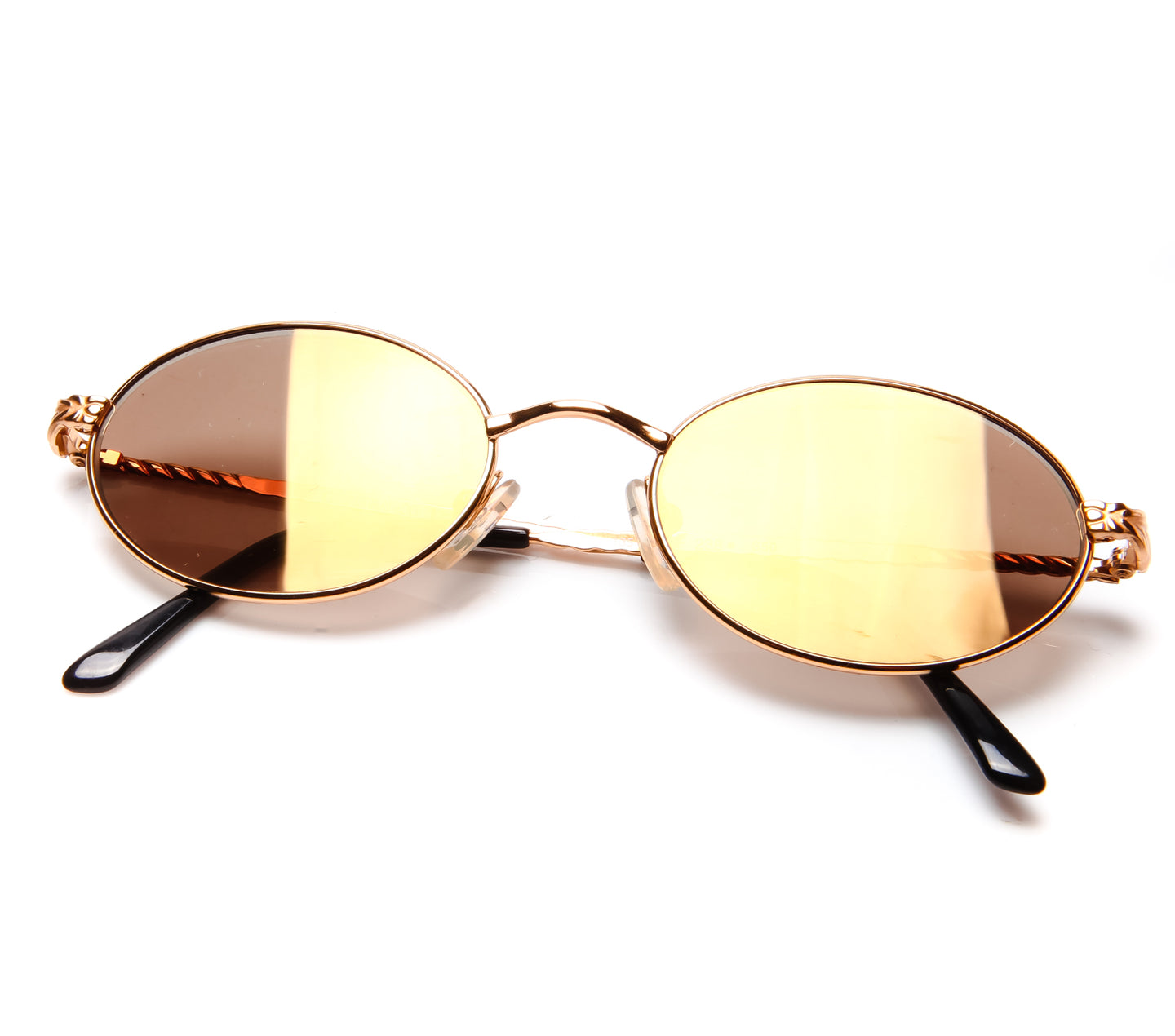 GianFranco Ferre 238 (Brown Flash Gold Flat Lens)