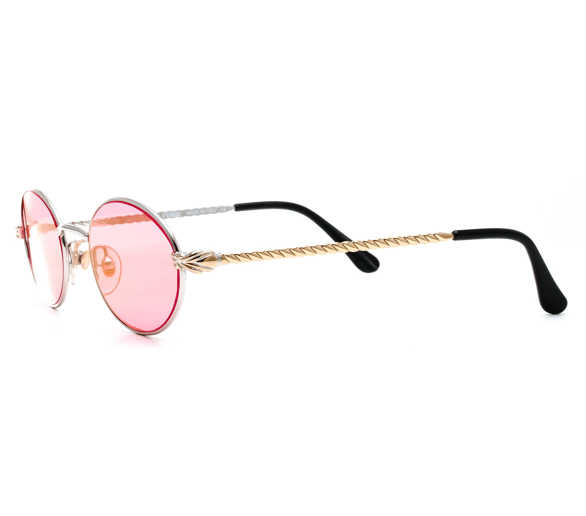 a89f607640a GianFranco Ferre GFF 238 (Solid Red Flat Lens) – Vintage Frames Company