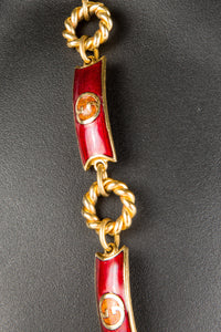 Vintage Gucci GCC-027 Chain Closeup