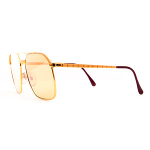 Vintage Hilton Class 10 995 (Amber) Side, Hilton, glasses frames, eyeglasses online, eyeglass frames, mens glasses, womens glasses, buy glasses online, designer eyeglasses, vintage sunglasses, retro sunglasses, vintage glasses, sunglass, eyeglass, glasses, lens, vintage frames company, vf