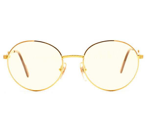 Vintage Frames Hilton Exclusive 025 1 24KT GP Front, Hilton , glasses frames, eyeglasses online, eyeglass frames, mens glasses, womens glasses, buy glasses online, designer eyeglasses, vintage sunglasses, retro sunglasses, vintage glasses, sunglass, eyeglass, glasses, lens, vintage frames company, vf