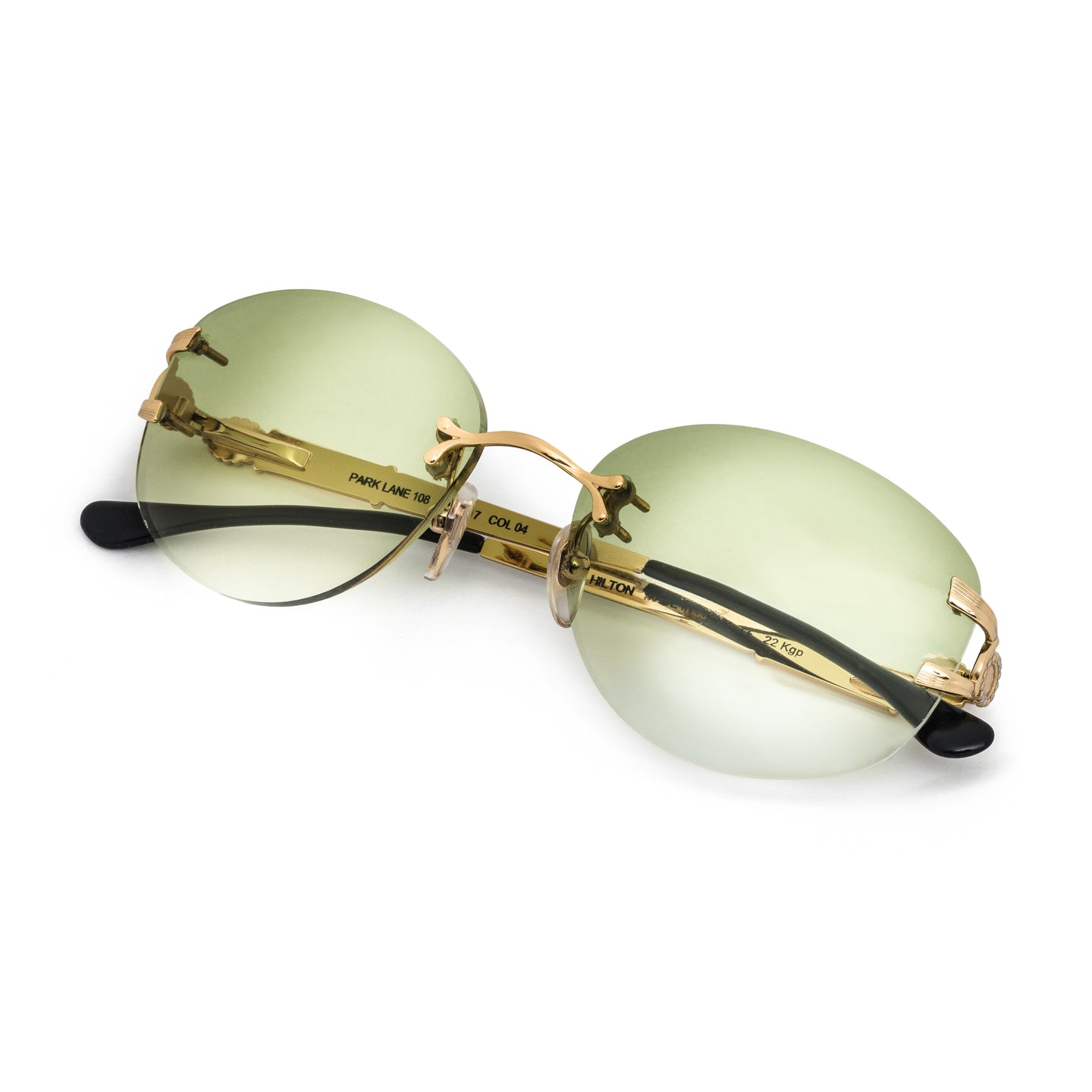 Vintage Hilton Parklane 108 04 (Field Green) Thumbnail, Hilton , glasses frames, eyeglasses online, eyeglass frames, mens glasses, womens glasses, buy glasses online, designer eyeglasses, vintage sunglasses, retro sunglasses, vintage glasses, sunglass, eyeglass, glasses, lens, vintage frames company, vf