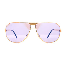 Vintage Hilton Special 7 1 (Smoke Flash Blue) Front, Hilton, glasses frames, eyeglasses online, eyeglass frames, mens glasses, womens glasses, buy glasses online, designer eyeglasses, vintage sunglasses, retro sunglasses, vintage glasses, sunglass, eyeglass, glasses, lens, vintage frames company, vf
